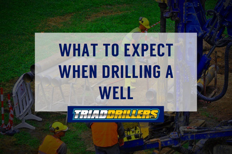 What to expect when drilling a well